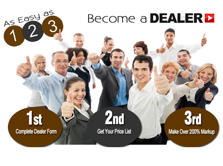 BECOME A DEALER    >>